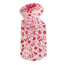 Charlotte Hearts Dog Raincoat