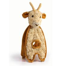 Charming Cuddle Tugs Dog Toy - Grazing Goat