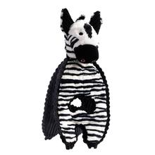 Charming Cuddle Tugs Dog Toy - Ziggy Zebra