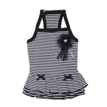Cheerleader Dog Dress by Pinkaholic - Navy