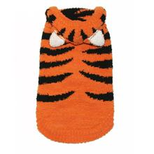Chenille Tiger Dog Hoodie by Hip Doggie