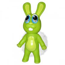 Chewbies Dog Toy - Green Bunny