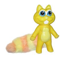 Chewbies Dog Toy - Yellow Squirrel