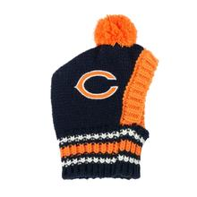 Chicago Bears Knit Dog Hat