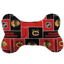 Chicago Blackhawks Bone Dog Toy
