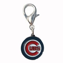 Chicago Cubs Logo Dog Collar Charm