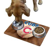 Chicago Cubs Pet Bowl Mat