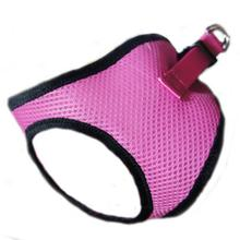 Choke-Free Mesh Step-In Dog Harness - Bubblegum Pink