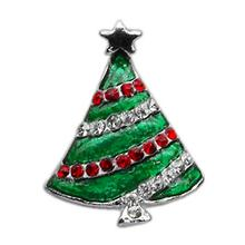 Christmas Slider Dog Collar Charm - Christmas Tree