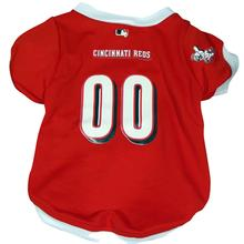 Cincinnati Reds Dog Jersey - White Trim