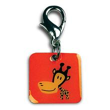 Clancy the Giraffe Dog Collar Charm
