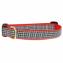 Classic Black Houndstooth Dog Collar by Up Country