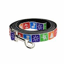 Classic Nylon Christmas Dog Leash