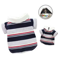 Classic Stripes Polo Dog Shirt by Klippo