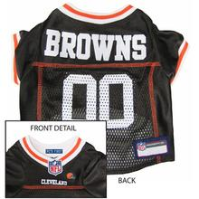 Cleveland Browns Officially Licensed Dog Jersey - Brown