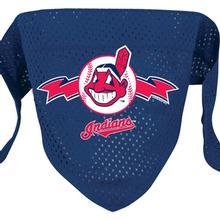Cleveland Indians Mesh Dog Bandana