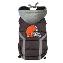 Cleveland Browns Dog Puffer Vest