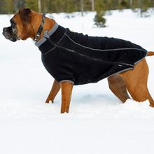 Climate Changer Fleece Dog Jacket by RuffWear - Obsidian Black