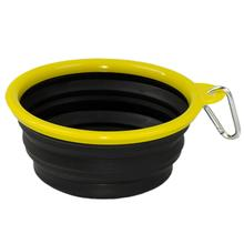 Collapsible Silicone Dog Bowls by Body Glove - Black