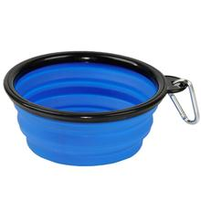 Collapsible Silicone Dog Bowls by Body Glove - Blue