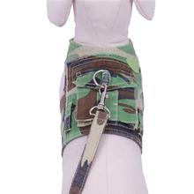 Combat Doggy Harness w/ Leash - Green