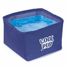 Cool Pup Portable Pet Bowl - Blue