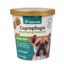 Coprophagia Plus Breath Aid Soft Dog Chew by NaturVet