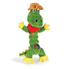 Corduroy Zonkers Dog Toy - Croc Cowboy