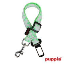 Cosmic Dog Seatbelt Leash by Puppia - Green
