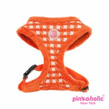 Cosmo Adjustable Dog Harness by Pinkaholic - Orange