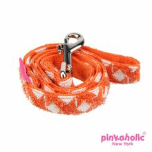 Cosmo Dog Leash by Pinkaholic - Orange