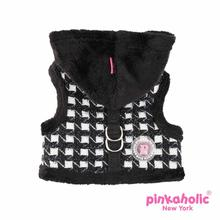 Cosmo Pinka Dog Harness by Pinkaholic - Black