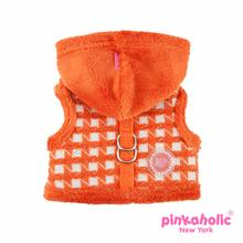 Cosmo Pinka Dog Harness by Pinkaholic - Orange