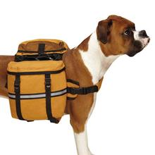 Cotton Duck Day Tripper Dog Backpack - Camel