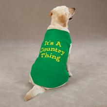 Country Thing Dog Tank by Zack & Zoey - Green