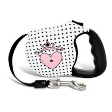 Couture Princess Retractable Dog Leash