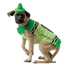 Crayola Crayon Dog Costume by Rasta Imposta - Green