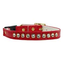 Crystal Cat Breakaway Collar - Red