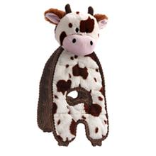 Charming Cuddle Tugs Dog Toy - Cozy Cow