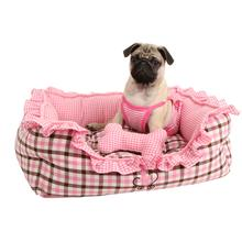 Cuddlebug Dog Bed by Pinkaholic - Pink