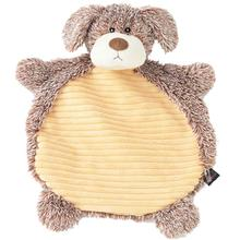 CuddleRageous Mutt Dog Toy - Tan and Cream