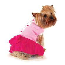 Cute Lady Dog Sweater Dress by Dogo