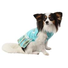 Dainty Dog Dress by Pinkaholic - Aqua