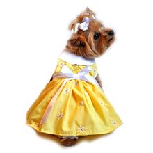 Daisy Dog Dress - Yellow