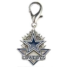 Dallas Cowboys Pennant Dog Collar Charm