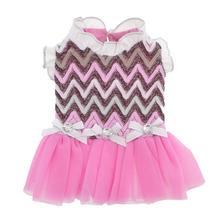Daphne Party Dog Dress - Pink