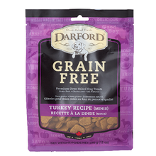 Darford Grain Free Mini Dog Treats - Turkey
