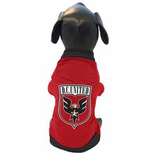 DC United Athletic Mesh Dog Jersey
