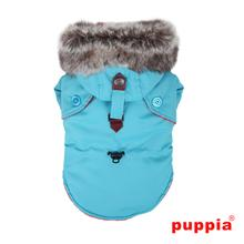 December Dog Coat By Puppia - Blue