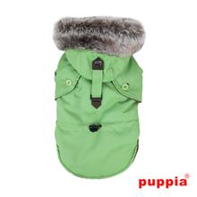 December Dog Coat By Puppia - Green